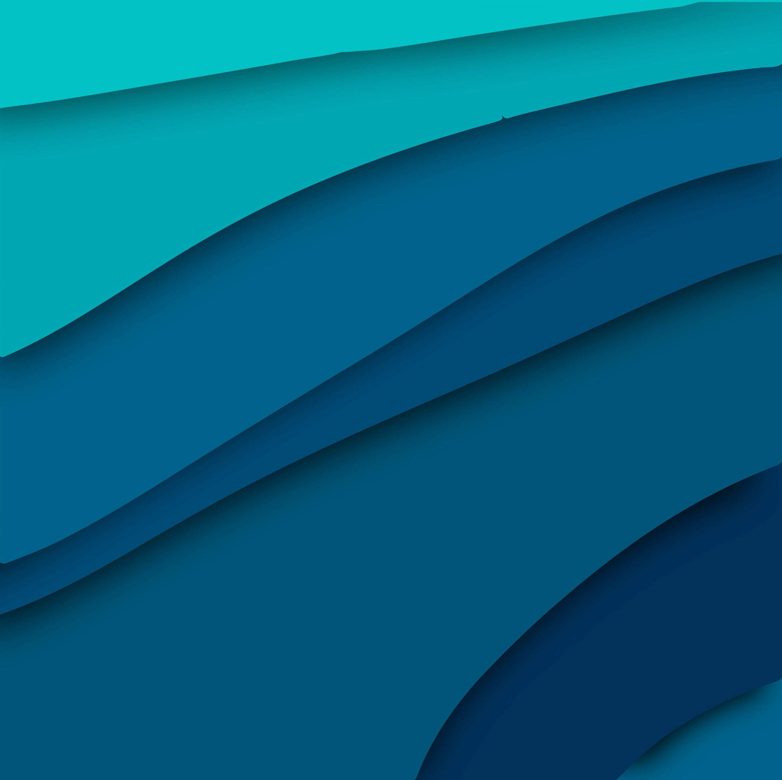 Abstract blue papercut stylish background vector